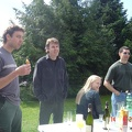 Easter Brunch -Gavin, Craig, Claudia and Chris